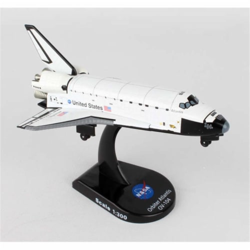Postage Stamp Planes PS5823-1 Space Shuttle Atlantis 1-300 Perspective: front