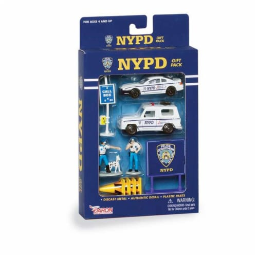 Daron Worldwide Trading RT8600 NYPD 10 Piece Gift Pack Perspective: front