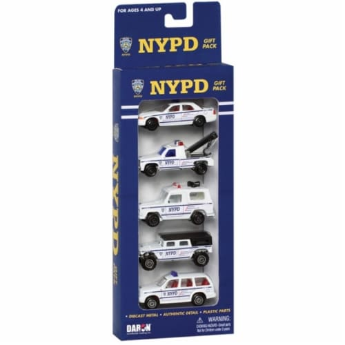 Daron Worldwide Trading RT8610 NYPD 5 Piece Gift Pack Perspective: front