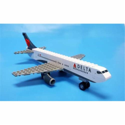 Daron Worldwide Trading  BL444 Delta 55 Piece Construction Toy Perspective: front