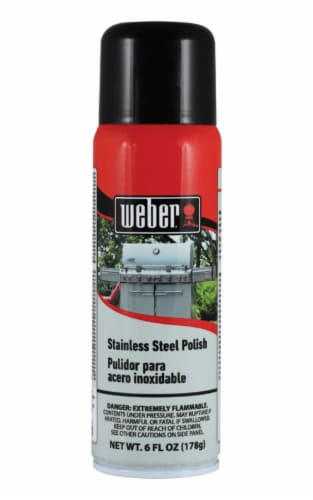 Weber No Scent Stainless Steel Cleaner Perspective: front