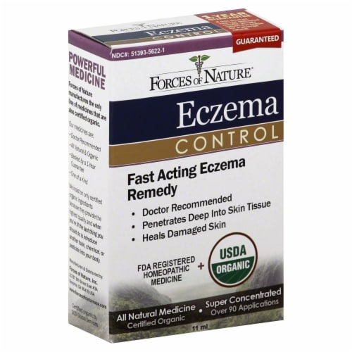 Forces of Nature Eczema Control Perspective: front