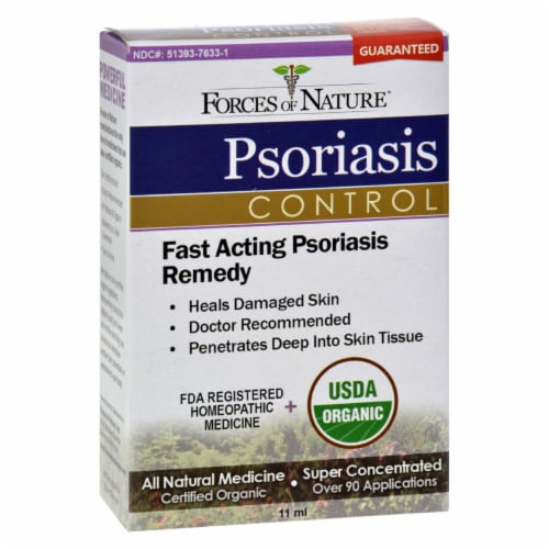 Forces of Nature Psoriasis Relief Perspective: front