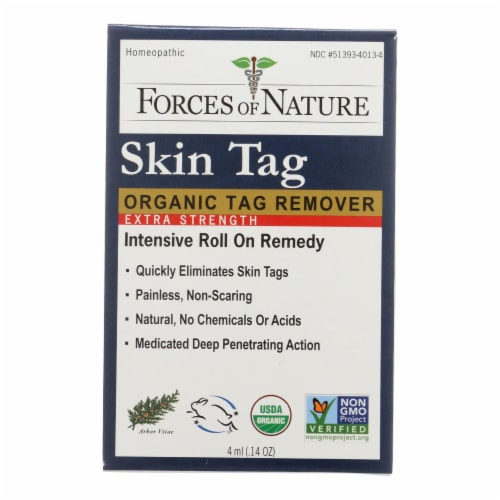 Forces Of Nature - Skn Tag Cntrl Extra - 1 Each - 4 ML Perspective: front