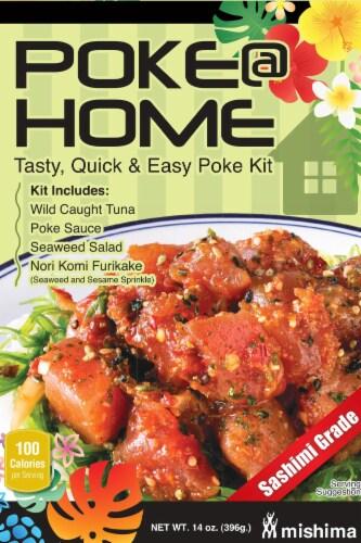 Mishima Poke @ Home Poke Kit Perspective: front