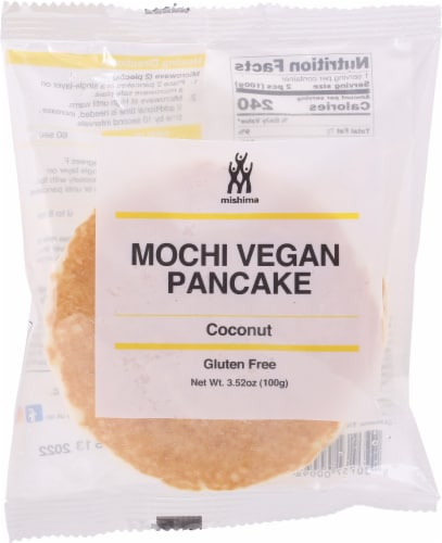 Mishima Coconut Mochi Vegan Pancake Perspective: front