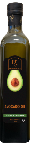 MG Massimo Gusto Extra Virgin Avocado Oil Perspective: front
