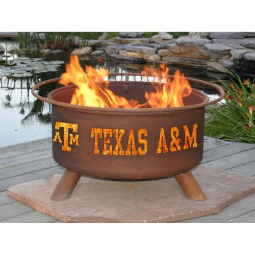 Patina Products F232 Texas A & M Fire Pit Perspective: front