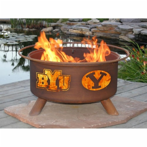 Patina Products F400 Byu Fire Pit Perspective: front