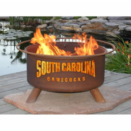 Patina Products F429 South Carolina Fire Pit Perspective: front