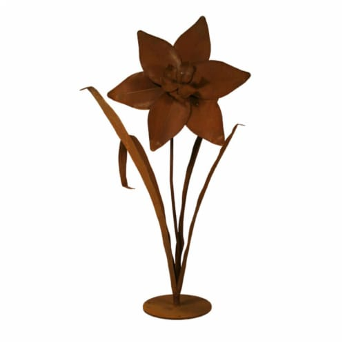 Patina Products S678 Large Daffodil Garden Sculpture - Cassidy Perspective: front