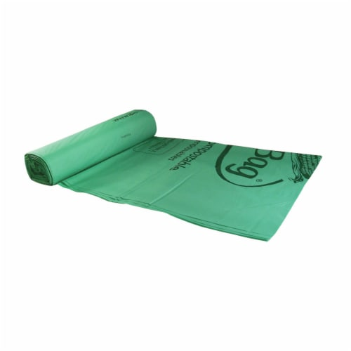 BioBag™ 13-gallon Compostable Trash Liner / 280-ct. case Perspective: front