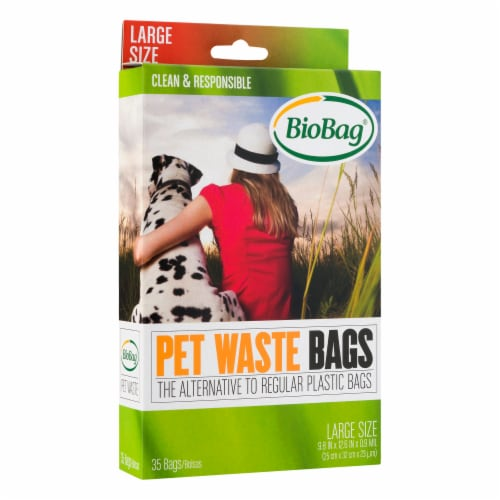 BioBag Large Size Pet Waste Bags Perspective: front