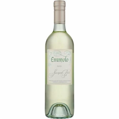 Emmolo Wines Sauvignon Blanc White Wine Perspective: front