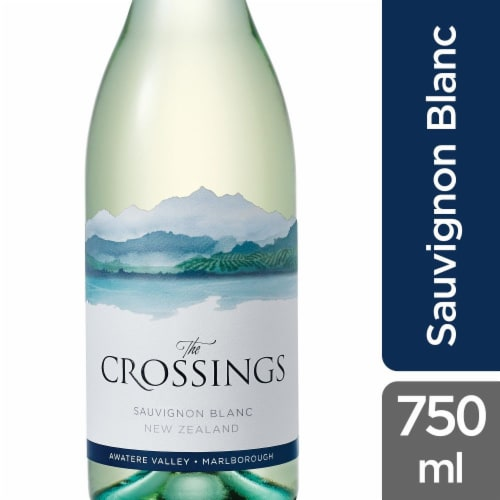 The Crossings Sauvignon Blanc White Wine Perspective: front