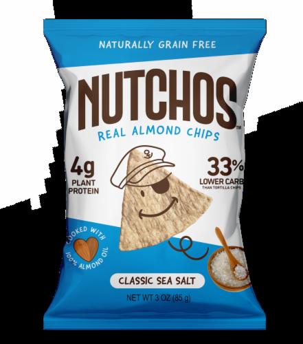 Nutchos™ Grain Free Classic Sea Salt Almond Chips Perspective: front