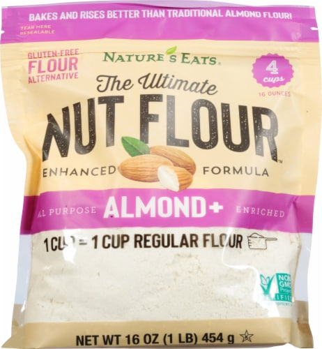 Nature's Eats Ultimate Almond Nut Flour Perspective: front