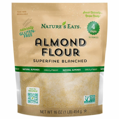 Nature's Eats Superfine Blanched Almond Flour Perspective: front