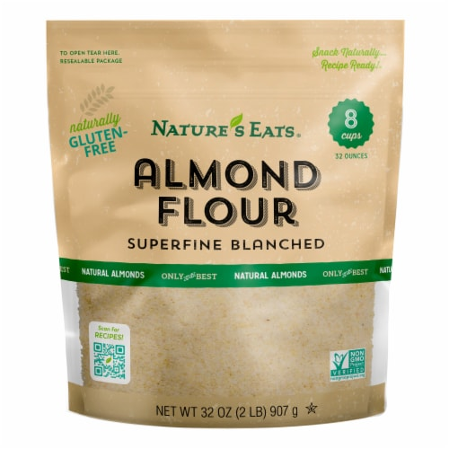 Nature's Eats Gluten-Free Superfine Blanched Almond Flour Perspective: front