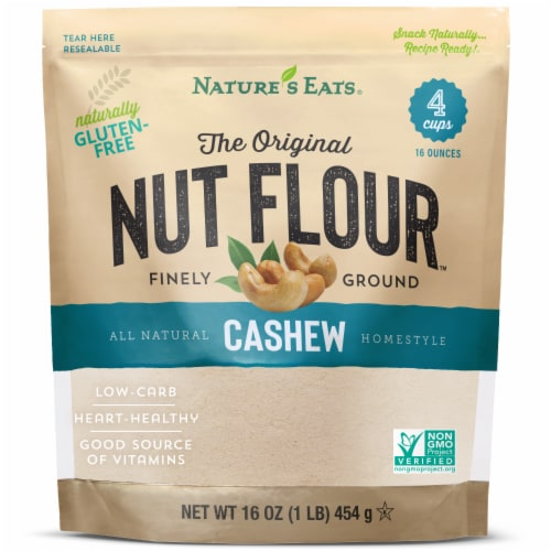 Nature's Eats Finely Ground Cashew Flour Perspective: front