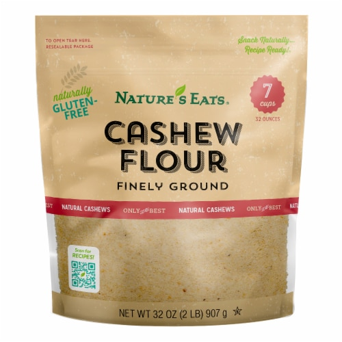 Nature's Eats Gluten-Free Finely Ground Cashew Flour Perspective: front