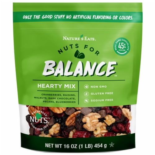 Nature's Eats Hearty Mix Balance Mix Perspective: front