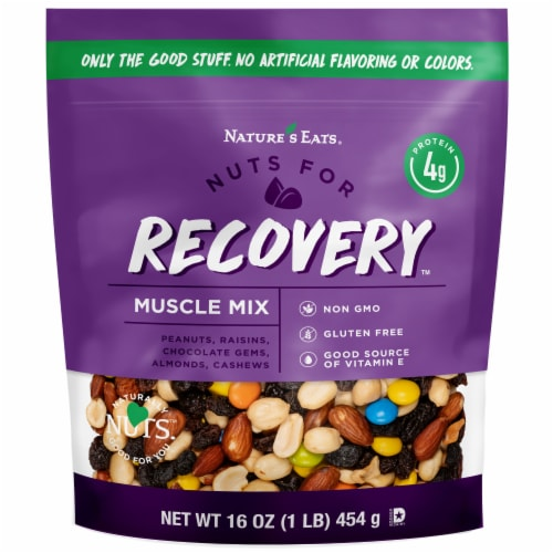 Nature's Eats Recovery Mix Perspective: front