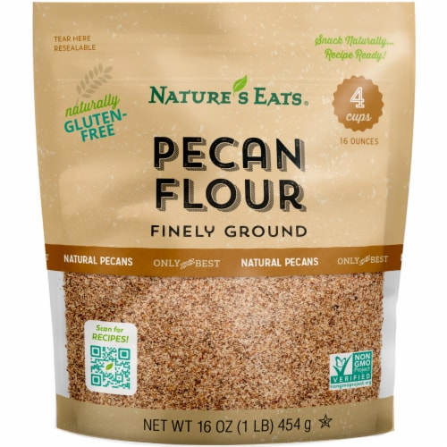 Nature's Eats Gluten-Free Finely Ground Pecan Flour Perspective: front