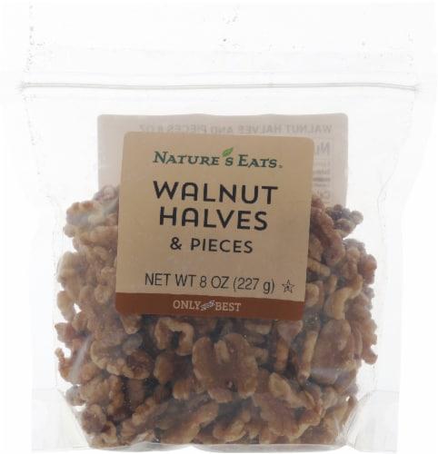 Nature's Eats Walnut Halves & Pieces Perspective: front