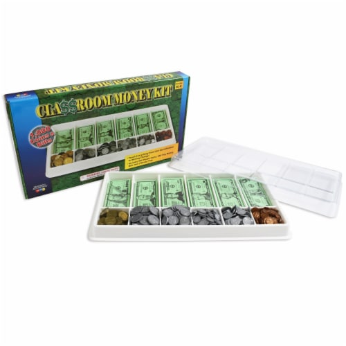 Learning Advantage™ Play Money Kit Perspective: front