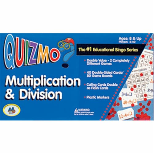 Learning Advantage Ctu8243 Quizmo Multiplication & Division Perspective: front