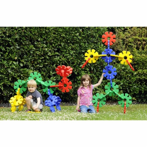 Polydron 1559058 Giant Octoplay, Set of 40 Perspective: front