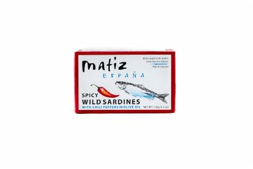 Matiz Espana Spicy Wild Sardines Perspective: front
