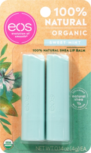 EOS Sweet Mint Stick Lip Balm Perspective: front