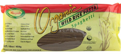 Rizopia  Organic Wild Rice Spaghetti Gluten Free Perspective: front
