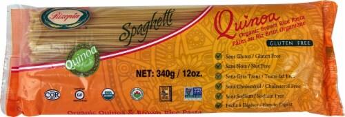 Rizopia  Quinoa Organic Brown Rice Spaghetti Pasta Perspective: front