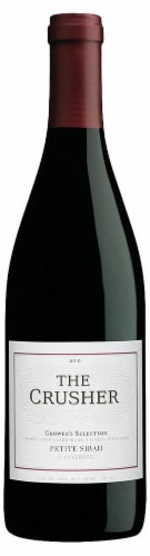 The Crusher Petite Sirah Perspective: front