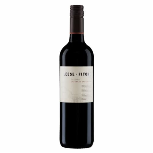 Leese-Fitch Cabernet Sauvignon Perspective: front