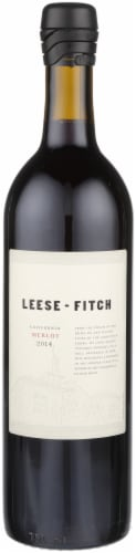 Leese-Fitch Merlot Perspective: front