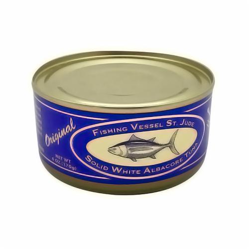 St. Jude Original Solid White Albacore Tuna Perspective: front