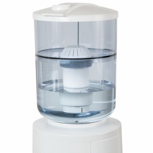 Vitapur Chemical and Lead Water Filtration System for Top-Load Water Dispensers Perspective: front