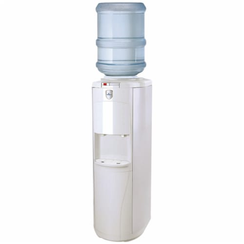 Vitapur Top Load Floor Standing Hot and Cold Water Dispenser Perspective: front