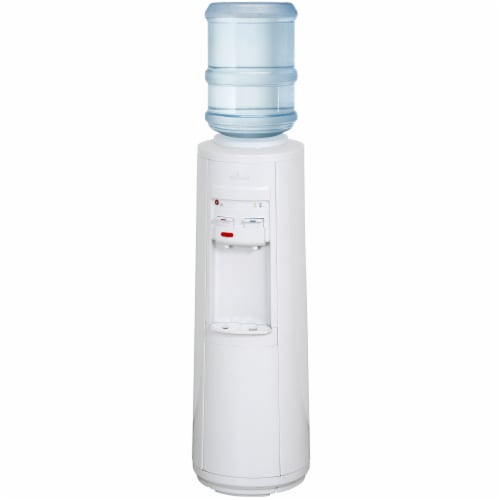 Vitapur Top Load Full Size Hot Room and Cold Water Dispenser Perspective: front