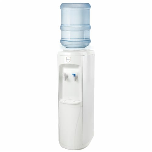 Vitapur Top Load Floor Standing Water Dispenser - White Perspective: front