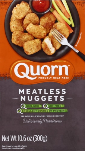 Quorn Meatless Nuggets Perspective: front