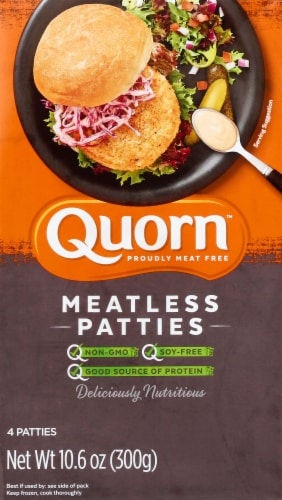 Quorn Meatless Patties Perspective: front