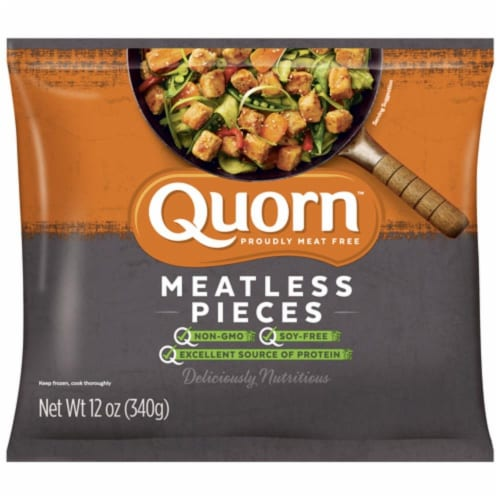 Quorn Meatless Pieces Perspective: front