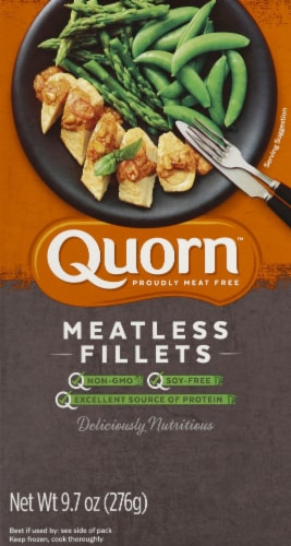 Quorn Meatless Fillets Perspective: front
