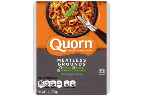 Quorn Meatless Grounds Perspective: front