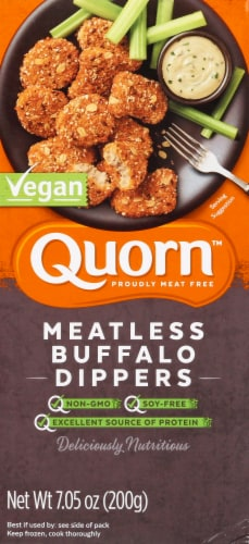Quorn Meatless Buffalo Dippers Perspective: front